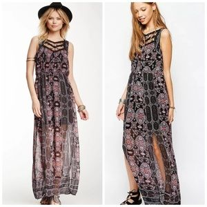 Free People Moroccan Lace Maxi Dress